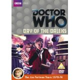 Doctor Who, Day Of The Daleks DVD, Jon Pertwee