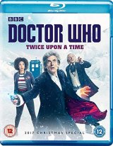 Doctor Who, Peter Capaldi, 2017 Christmas Special, Twice Upon a Time Blu Ray