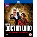 Doctor Who, Peter Capaldi, Complete Series 8 Blu Ray