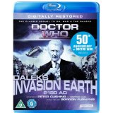 Dr Who, Daleks Invasion Earth 2150 AD, Blu Ray
