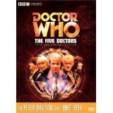 Doctor Who, The Five Doctors, US Region 1 DVD