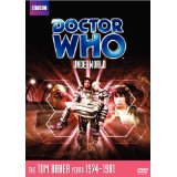Doctor Who, Tom Baker, Underworld, US Region 1 DVD